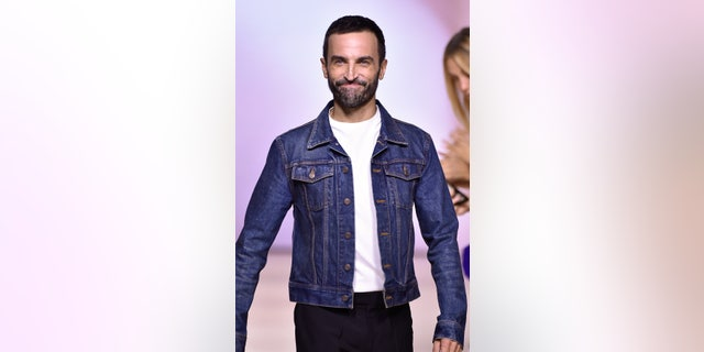 Nicolas Ghesquière walks the runway during the Louis Vuitton Womenswear Spring/Summer 2020 show as part of Paris Fashion Week on Oct. 1, 2019 in Paris, France. (Photo by Peter White/Getty Images)