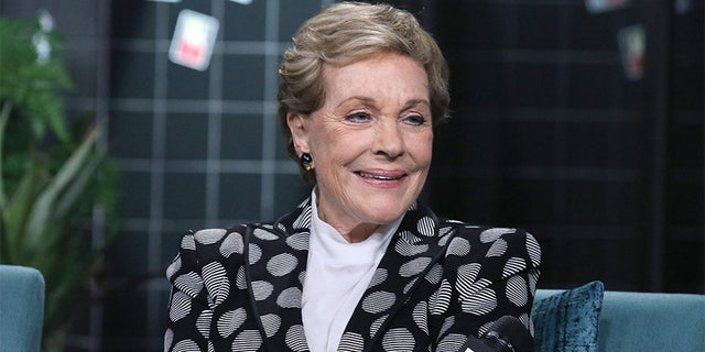 "Julie Andrews attends the Build Series to discuss ""Home Work: A Memoir of My Hollywood Years"" at Build Studio on Oct. 16, 2019, in New York City."