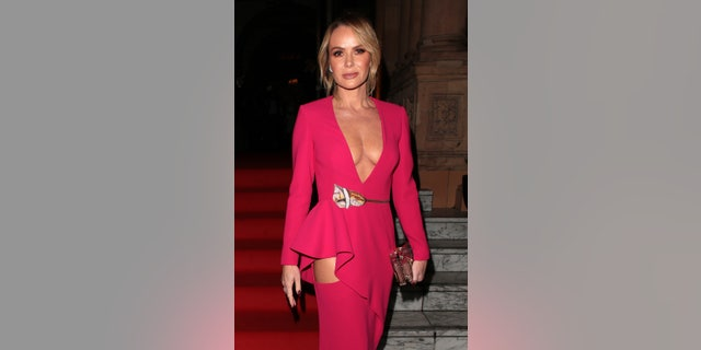 Amanda Holden rocks a different angle on the red carpet.