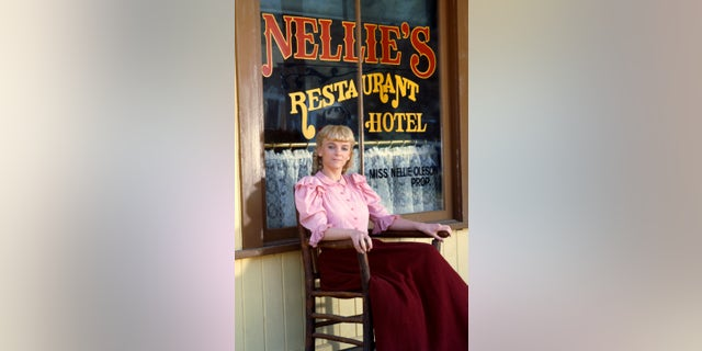 Alison Arngrim as Nellie Oleson. (Photo by NBC/NBCU Photo Bank via Getty Images)