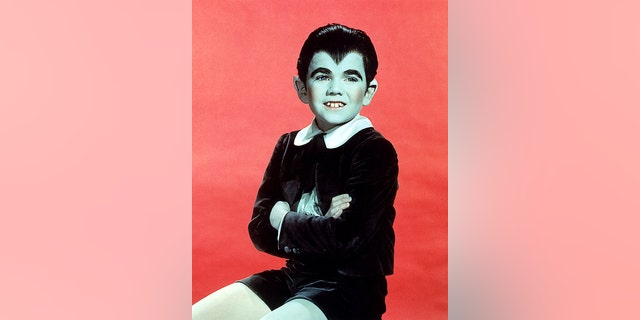 """American actor Butch Patrick as Eddie Munster in the TV comedy horror series<br> """"The Munsters,"""" circa 1965."""