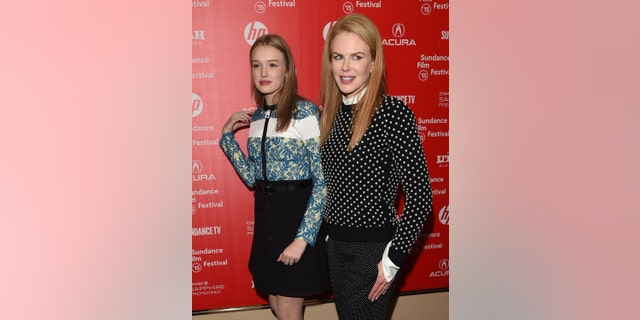 Actresses Maddison Brown and Nicole Kidman attend the 'Strangerland' Premiere at the 2015 Sundance Film Festival. (Photo by Jason Merritt/Getty Images)