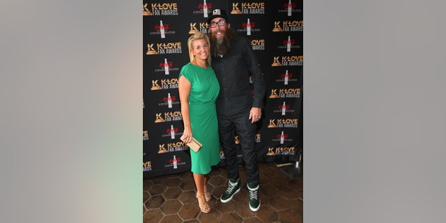 David Crowder and Toni Crowder at the 4th Annual KLOVE Fan Awards at The Grand Ole Opry House on June 5, 2016 in Nashville, Tennessee. (Photo by Terry Wyatt/Getty Images for KLOVE)