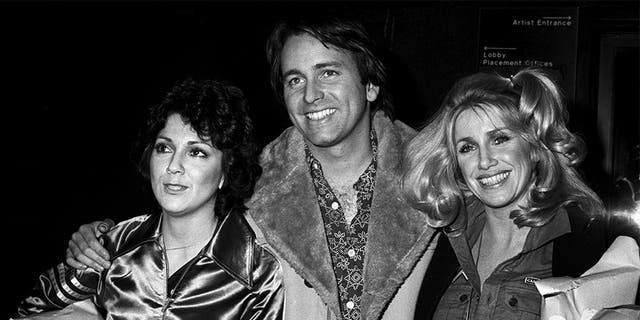 Joyce Dewitt, John Ritter and Suzanne Somers at CBS Studios on February 3, 1978, in Los Angeles, United States.
