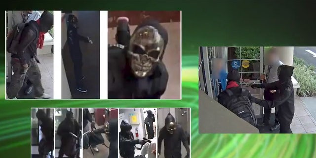 "The ""Ghost Mask Armed Robbers"" had been sought in connection with the incidents at banks in Florida last month."