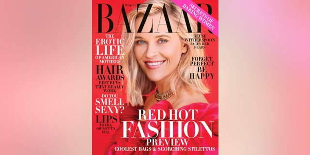 Actress Reese Witherspoon covers the November 2019 issue of Harper's Bazaar