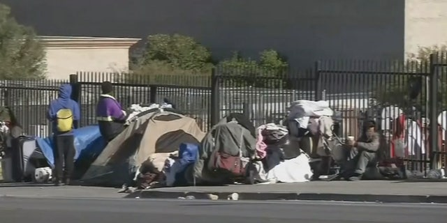 A homeless man who received services at two facilities in Las Vegas has tested positive for coronavirus.