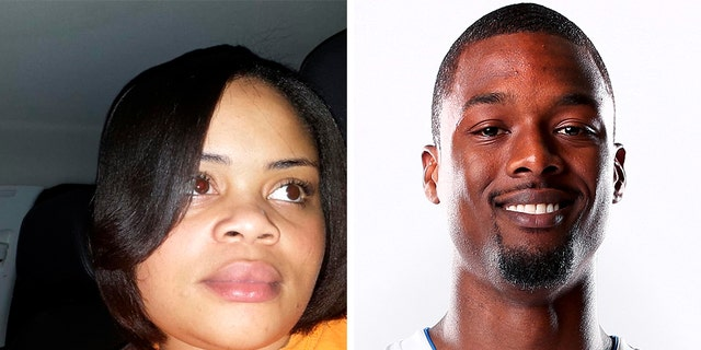 Sacramento Kings forward Harrison Barnes, formerly of the Dallas Mavericks, is paying for the funeral of Atatiana Jefferson, left, who was killed in her apartment when a Fort Worth, Texas police officer fired a gunshot through a back window, according to reports. (AP/Getty, File)