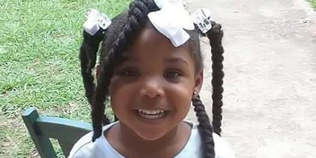 """Kamille """"Cupcake"""" McKinney was last seen Saturday at her home in Avondale, where witnesses say she was """"picked up at a birthday party by an unknown male/female in a dark SUV,"""" according to an Amber Alert.(Attorney General Steve Marshall)"""