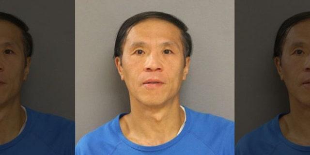 Mugshot for Ke Hu, 46.