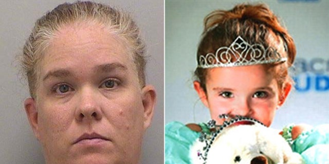 Kelly Renee Turner, 41, was charged with murdering her daughter Olivia Gant, 7.