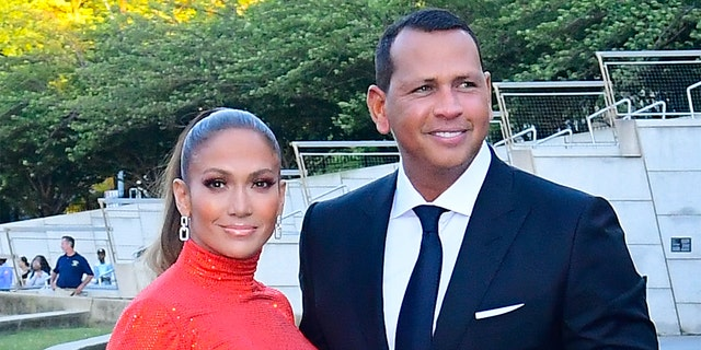 Alex Rodriguez implied that he is still in a relationship with Jennifer Lopez.