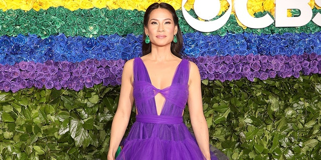 Lucy Liu attends the 2019 Tony Awards at Radio City Music Hall on June 9, 2019, in New York City. (Photo by Taylor Hill/FilmMagic,)