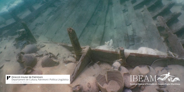 The Mediterranean wreck is well preserved. (Consell de Mallorca/IBEAM)