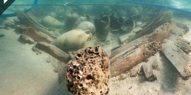 Experts think that the ship was traveling from the Iberian Peninsula to Rome. (Consell de Mallorca/IBEAM)