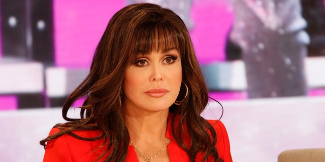 Marie Osmond's new blonde hair is a drastic change from her signature, brunette locks.