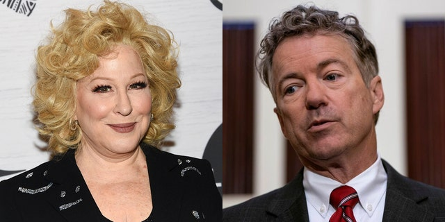 Westlake Legal Group MidllerPaul1 Bette Midler on Rand Paul's Syria comments: We should 'be more grateful' to man who assaulted him Tyler McCarthy fox-news/person/rand-paul fox-news/person/bette-midler fox-news/entertainment/genres/viral fox-news/entertainment/genres/political fox-news/entertainment/celebrity-news fox-news/entertainment fox news fnc/entertainment fnc article 895fa1db-ce91-5382-abfa-e0a7b9246864