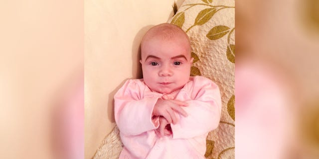 Danielle McSherry-Schee claims she drew the eyebrows on for two reasons: to see what they looked like and to teach her daughter not to fall asleep at parties.