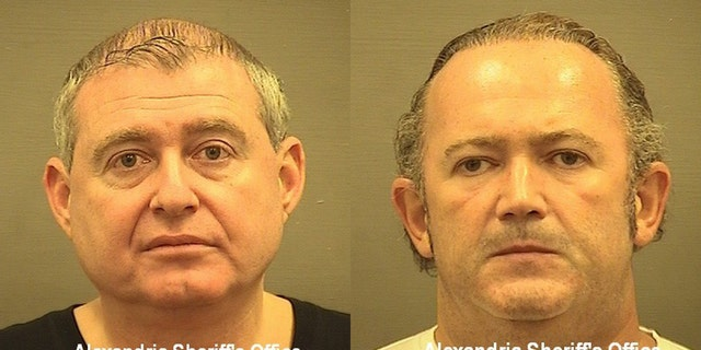 Lev Parnas (left) and Igor Fruman (right) are accused of using a limited liability company to make political contributions related to American elections. (Courtesy of Alexandria Sheriff's office)