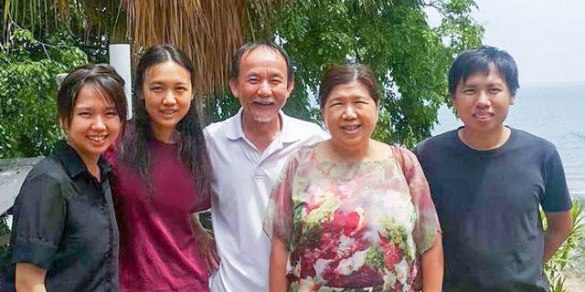 Pastor Raymond Koh and his family, who are seeking answers in his mysterious disappearance.