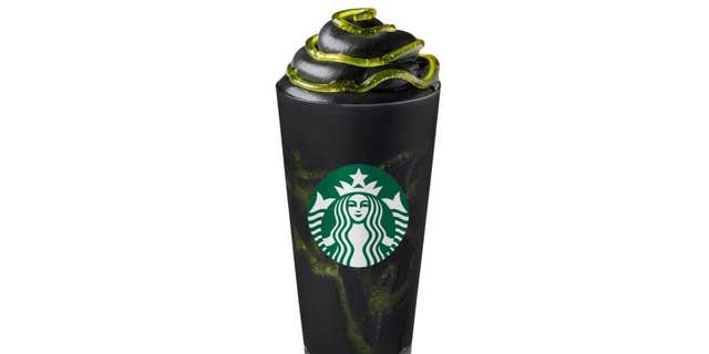 """Developed by our beverage innovation team based at the Starbucks EMEA (Europe, the Middle East and Africa) headquarters, our limited-edition Halloween concoction is spooky and stunning on the outside and fresh and fruity on the inside,"" the chain proudly boasts in a press release."