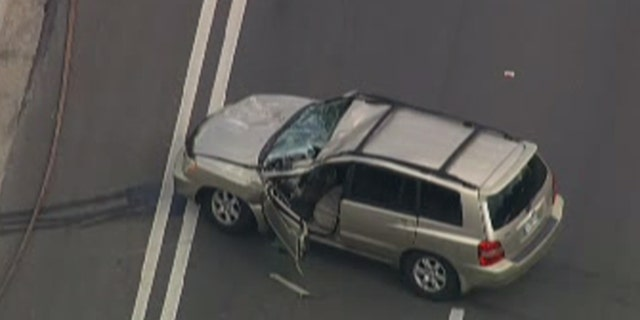 The Federal Aviation Administration (FAA) told Fox News that a Beechcraft Baron aircraft, with two people on board, crashed into a car on a highway southeast of Ocala International Airport in Florida around 11:30 a.m.