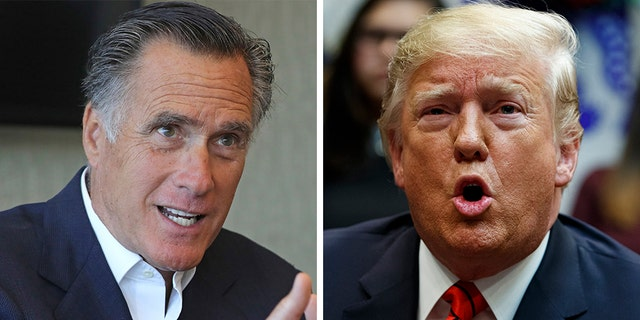 "In an interview with ""Axios on HBO,"" Sen. Mitt Romney, R-Utah, took a  series of shots at President Trump. (File)"