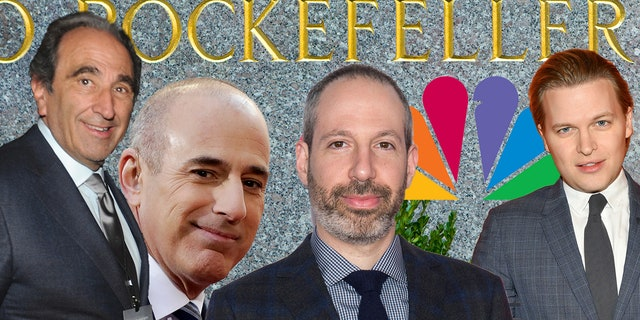 Andy Lack, Matt Lauer, Noah Oppenheim and Ronan Farrow play major roles in Rich McHugh's scathing column.