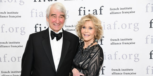 Sam Waterston and Jane Fonda were arrested at a climate change protest in Washington D.C.