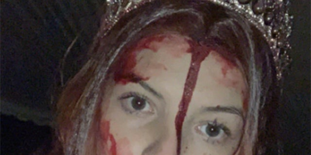 Woman dressed as 'Carrie' gives first responders big scare at crash scene