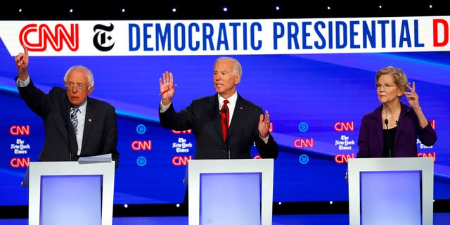 Westlake Legal Group Schoenanalysis101619 Warren attacked from all sides at Dem debate; 'Squad' to back Sanders; Biden says focus on Trump fox-news/columns/fox-news-first fox news fnc/us fnc e3856332-3802-52e8-adf5-320053ff3889 article