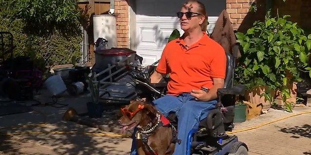 Leon Masson, 59, said he and his service dog were kicked out of a Texas McDonald's because she smelled bad, according to KABB-TV.