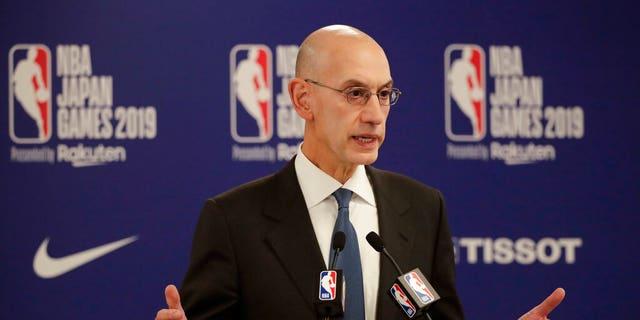 NBA Commissioner Adam Silver (AP Photo/Jae C. Hong)