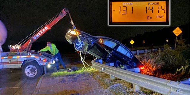 Westlake Legal Group Speed-accident Georgia DUI suspect evades police, crashes car going 131 mph: police fox-news/us/us-regions/southeast/georgia fox-news/us/crime/police-and-law-enforcement fox-news/auto fox news fnc/us fnc David Aaro article 74205900-7631-53e2-b80f-18f678346f3a