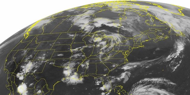 FILE - This Wednesday, August 24, 2011, a NOAA satellite image shows Hurricane Irene.