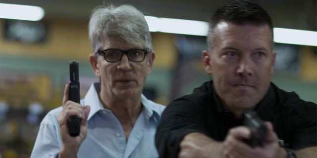 "Eric Roberts (left) also stars in ""The Reliant."""