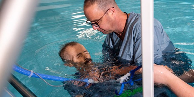 Thomas Roberts had been an atheist for most of his life, as UAB News reported, and in early September, he decided he wanted to be baptized: fully submerged in water. (handout/ The University of Alabama at Birmingham)