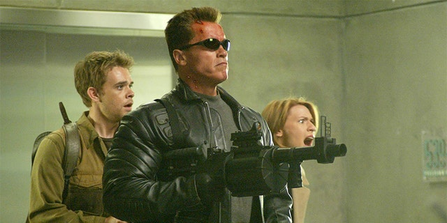 Schwarzenegger in 'Terminator 3: Rise of the Machines.'