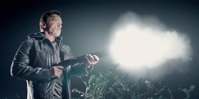 Schwarzenegger in 'Terminator Genisys.'