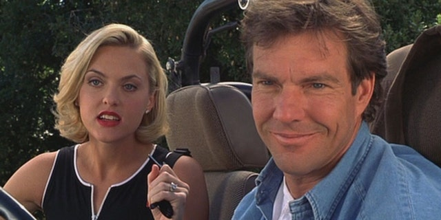 Dennis Quaid and Elaine Hendrix in the 1998 film, 'The Parent Trap.'