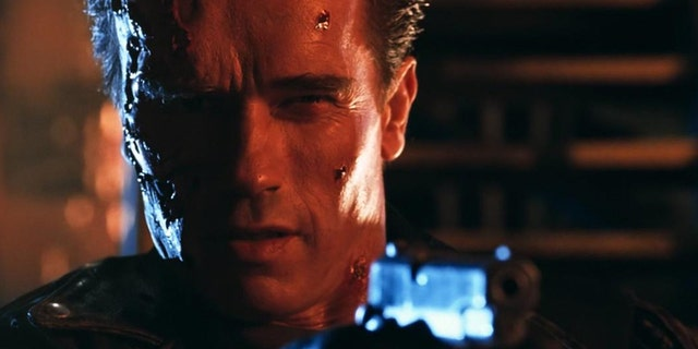 Schwarzenegger in 'Terminator 2: Judgement Day.'