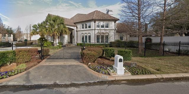 Tyler Seguin's home in North Dallas before the tornado.