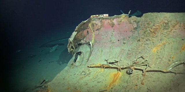 The wreck was found resting at a depth of 20,406 feet. (Vulcan Inc.)