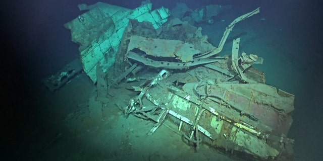 The shipwreck is the deepest ever discovered, researchers say. (Vulcan Inc.)