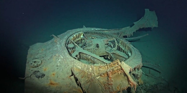 The wreck of the U.S. World War II destroyer was found in the Philippine Sea.