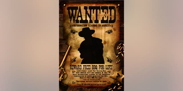 """""""Snitching never tasted so good,"""" reads the message on a """"Wanted"""" poster shared on the restaurant's website."""