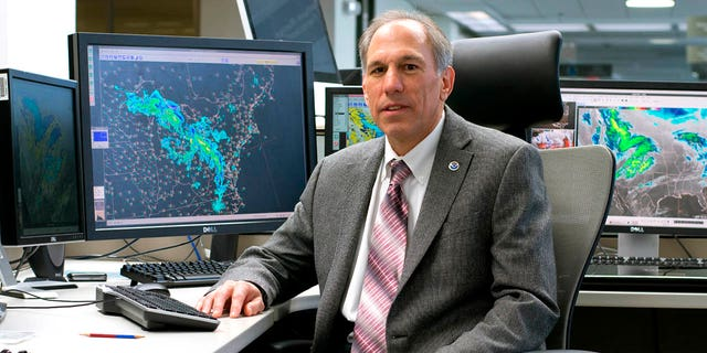 Dr. William Lapenta, pictured here at the Weather Prediction Center, in College Park, Md., drowned in North Carolina on Monday, officials said.