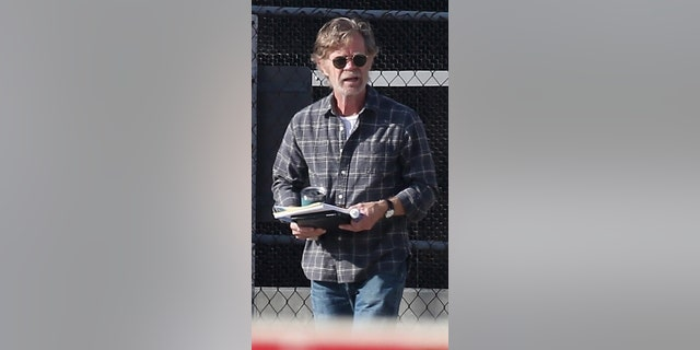 William H. Macy back filming