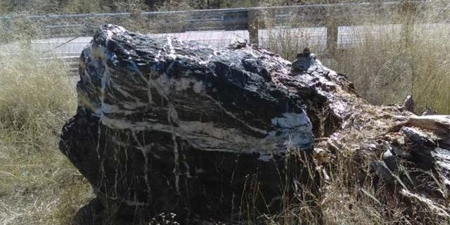 """""""Wizard Rock"""" is often admired by the public for its beauty, officials said."""
