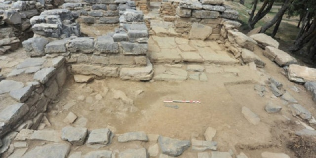 Archaeologists are shedding new light on the ancient palace. (Hellenic Ministry of Culture)